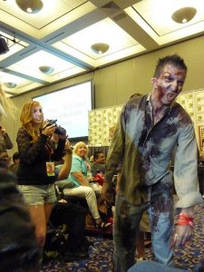 Zombies at Comic Con 2010