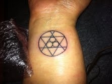 tattoo of ultima symbols